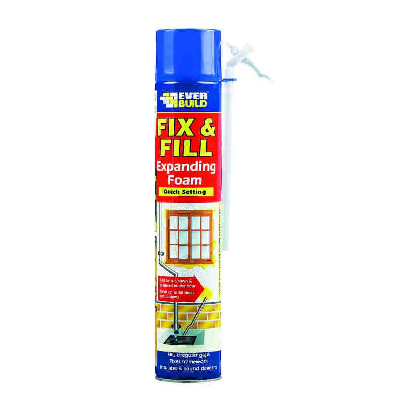 Everbuild Fill & Fix Expanding Foam 750ml