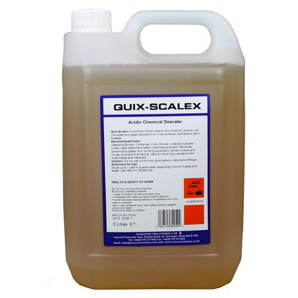 Quix Scalex Acidic Cleaner & Descaler