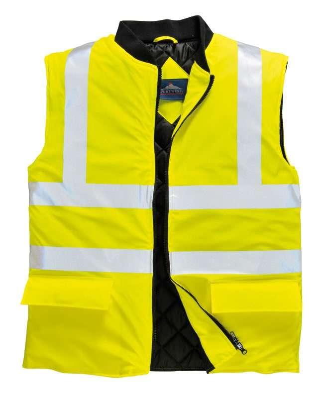 Class 2 Hi-Vis Yellow Bodywarmer