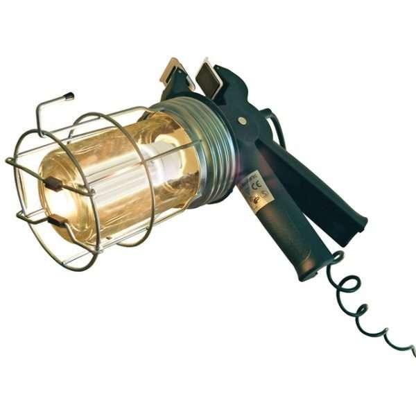 Faithfull Low Energy Trailing Gripper Lamp 5m