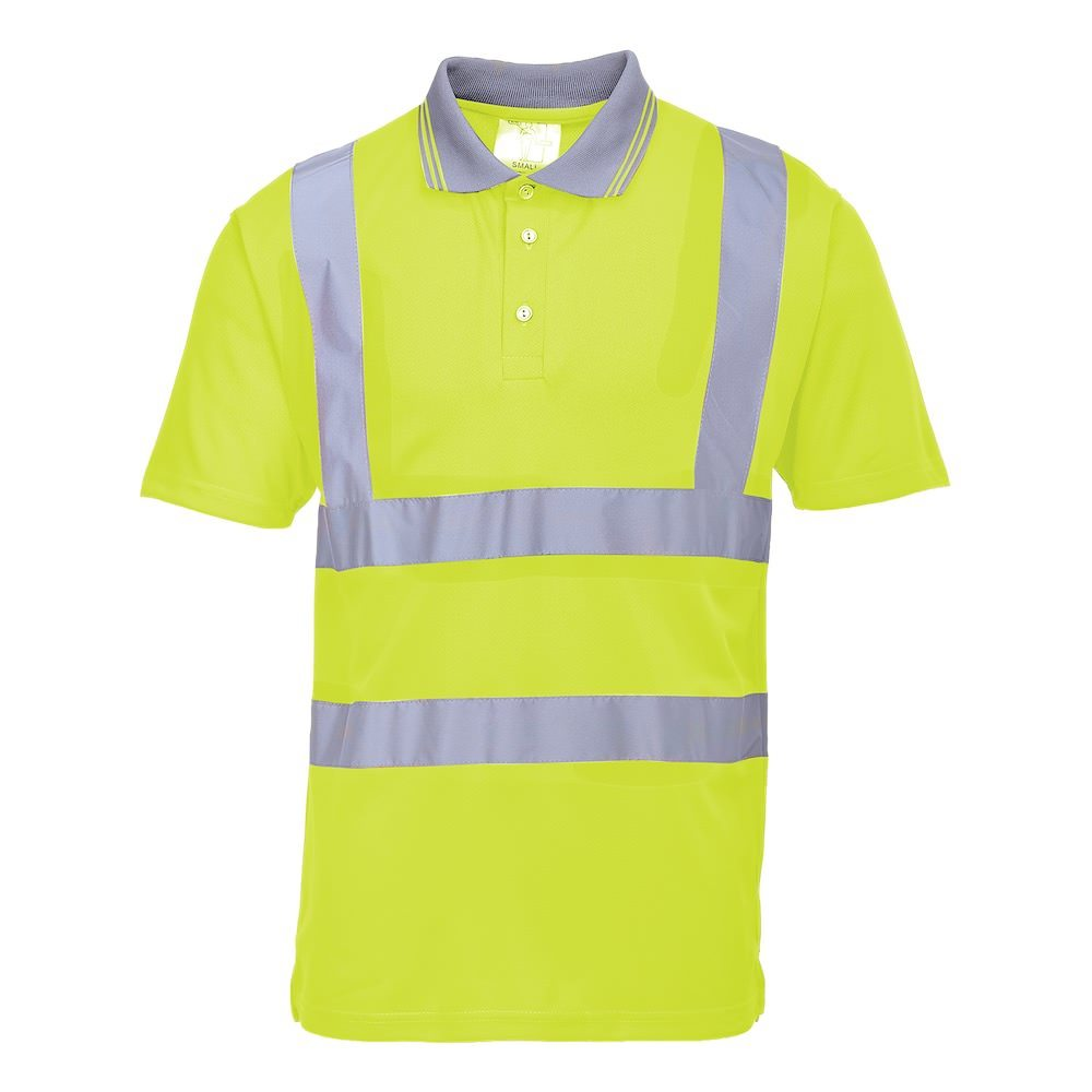Hi-Vis Short Sleeved Polo Shirt