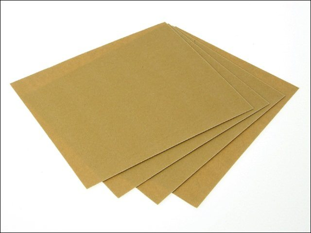 Glasspaper Sheets 230 x 280mm