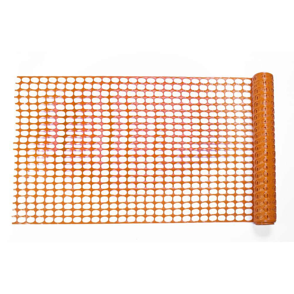 1x50m Orange Barrier Fencing Roll