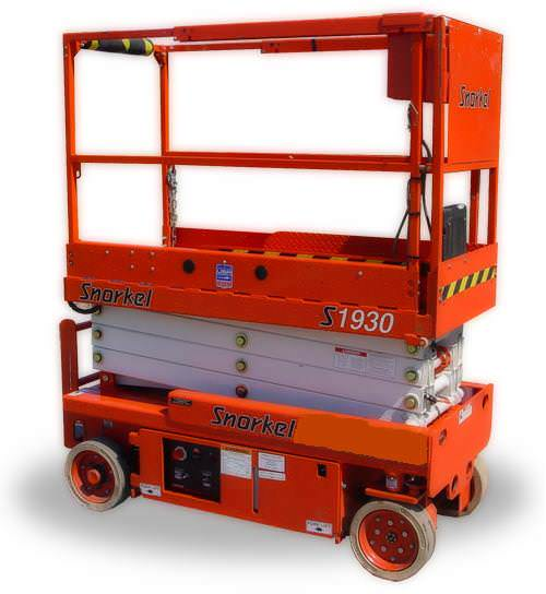 7.6m Electric Hard Ground Scissor Lift
