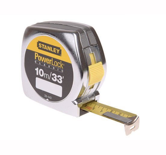 Stanley Powerlock Rule 10 Metre / 33ft