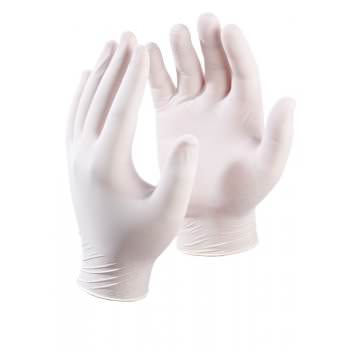 Latex Disposable Gloves (100)