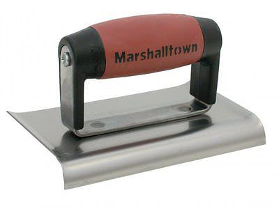 Marshalltown Straight End Cement Edger 6 x 3in