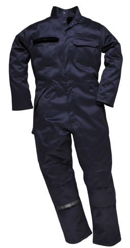 Navy Flame Safe Overall