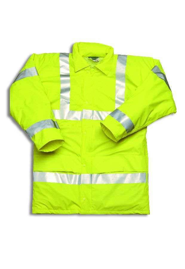 Hydraflex Hi Vis Jacket Padded Yellow