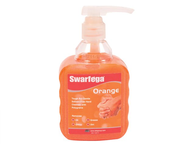 Swarfega Orange Hand Cleaner 450g Pump Pot
