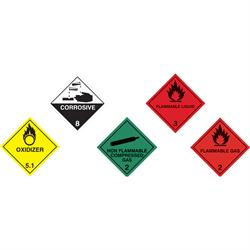 100 x 100mm Safety Vehicle Stickers