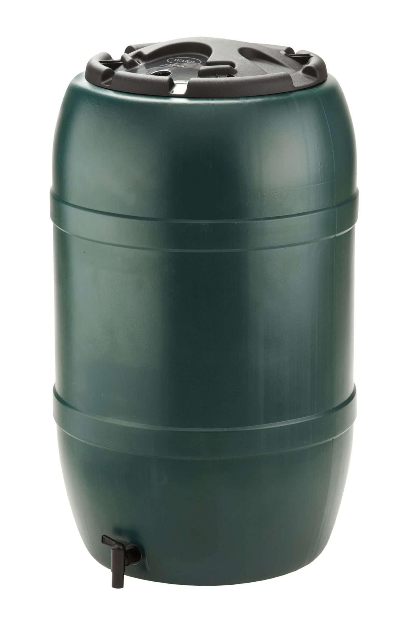 210L Water Butt c/w Lid