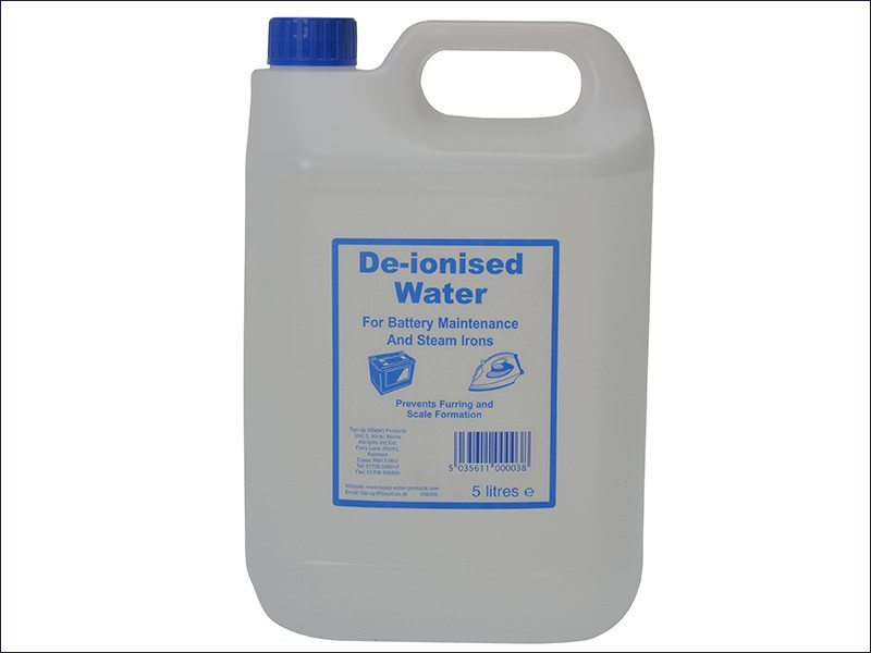 De-ionised Water