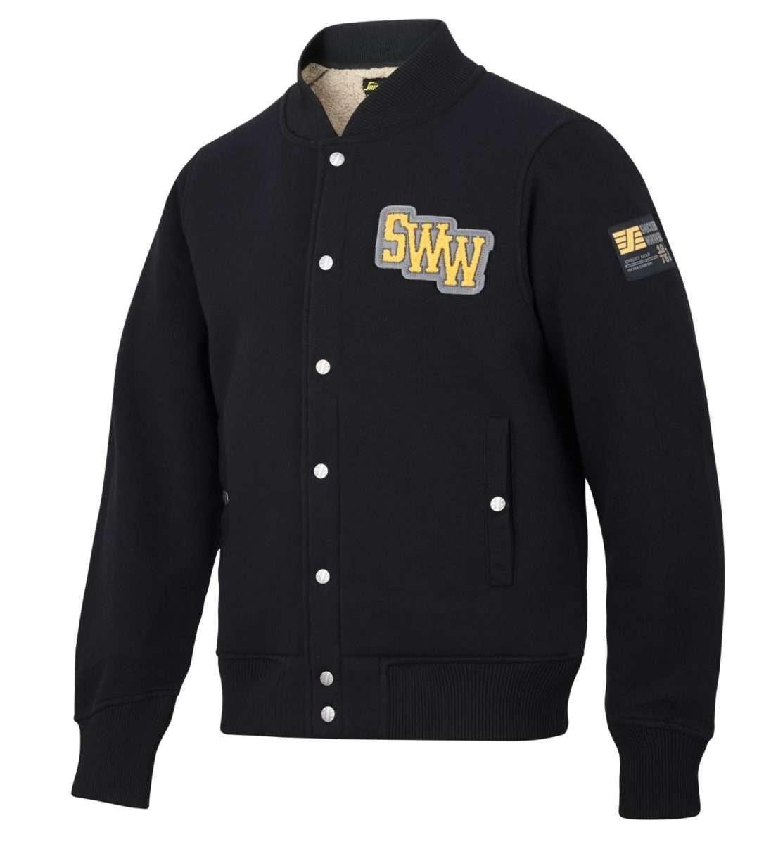 Snickers 2832 RuffWork, Pile Sweatshirt Jacket