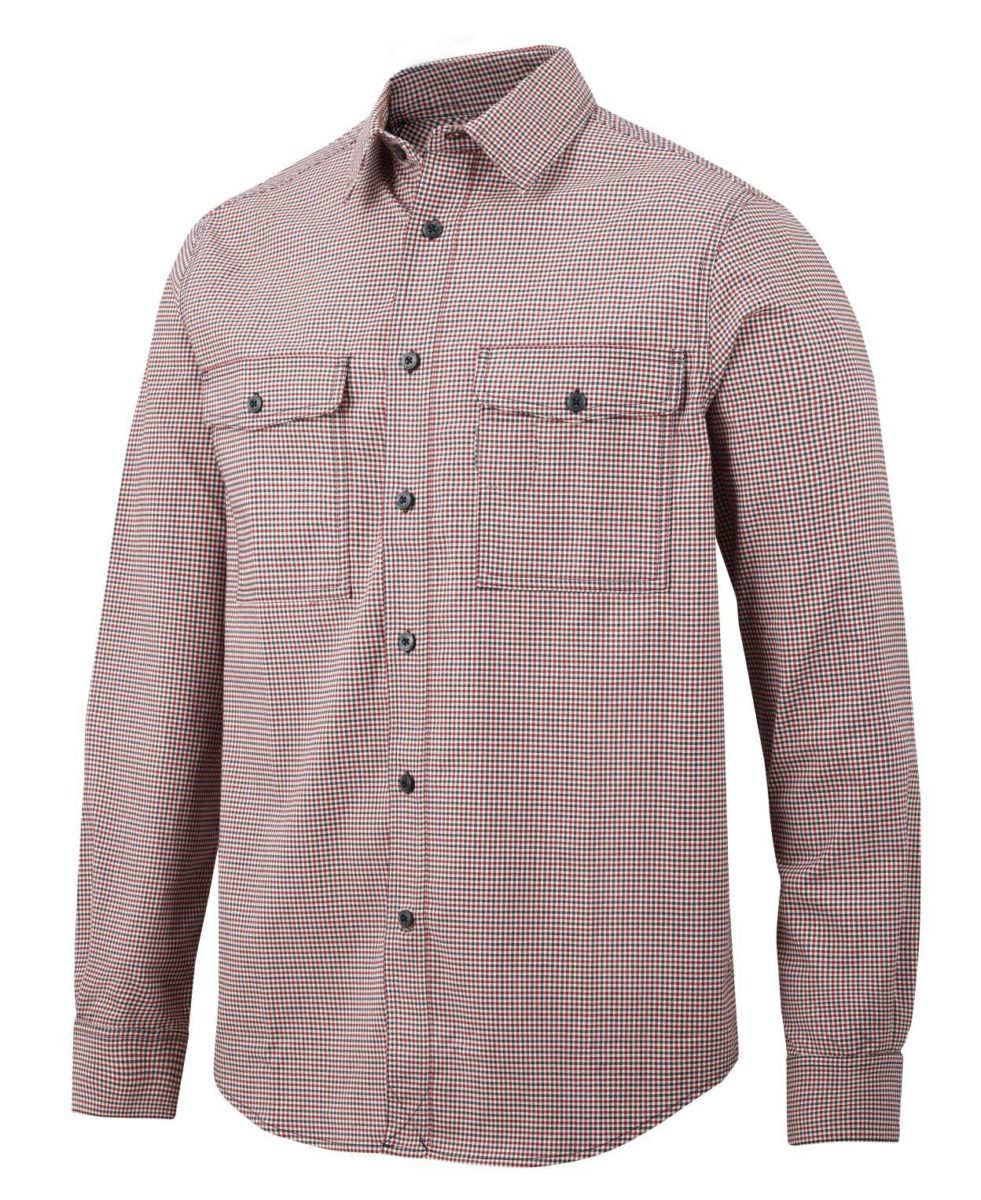 Snickers 8507 AllroundWork, Comfort Checked LS Shirt