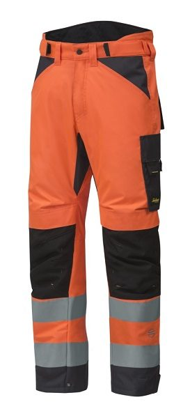Snickers 6639 AllroundWork, High-Vis 37.5 Insulated Trousers+ CL2