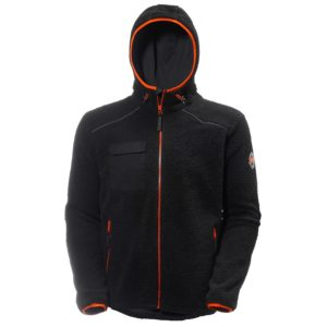 Helly Hansen Chelsea Black Pile Jacket