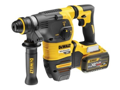 Dewalt FlexVolt XR Brushless SDS-Plus Hammer 18/54 Volt 2 x 9.0/3.0Ah Li-Ion