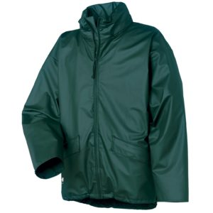 Helly Hansen Voss Dark Green Rain Jacket