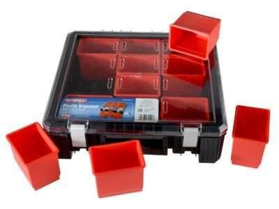 "Faithfull 12 Compartment Plastic Organiser 15"""
