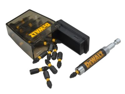 DEWALT DT70621T Tic-Tac Box with PZ2 Bits & Holder, 25 Piece