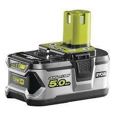 Ryobi RB 18L50 ONE+ Battery 18 Volt 5.0Ah Li-Ion