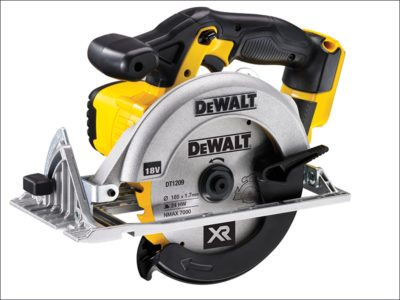 Dewalt 165mm XR Premium Circular Saw 18 Volt Bare Unit