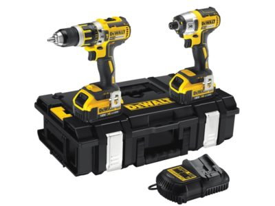 Dewalt Brushless Twin Pack 18 Volt 2 x 4.0Ah Li-Ion