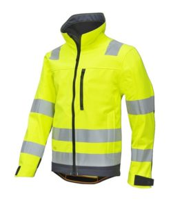 Snickers 1230 AllroundWork, High-Vis Softshell Jacket CL3