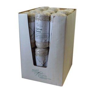 Mill Farm Cotton Twine Small 125g Spool