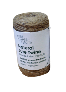 Mill Farm Natural Jute Twine Small 125g Spool