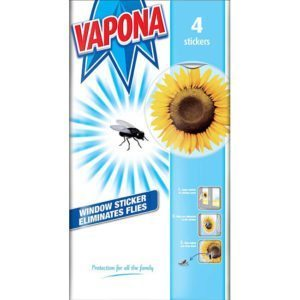 Vapona Window Fly Stickers 4pk