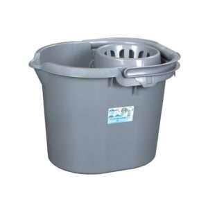 Casa 16L Mop Bucket Silver