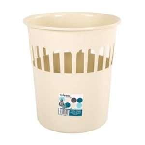 Casa 16L Waste Paper Bin/Basket Calico