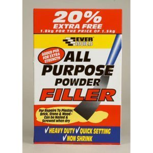 All Purpose Powder Filler, 1.5kg, White