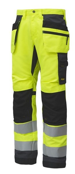 Snickers 6230 AllroundWork, High-Vis Work Trousers Holster Pockets+ CL2