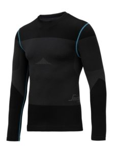 Snickers 9418 LiteWork Seamless 37.5® LS First Layer shirt
