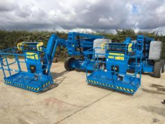 New to the fleet: Genie Z45 Access Platforms