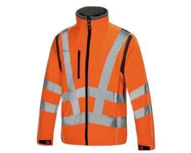 Class 3 Hi Vis Soft Shell Jacket