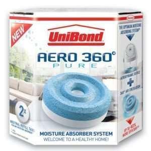 Unibond Aero 360 Moisture Absorber Refill 2pk