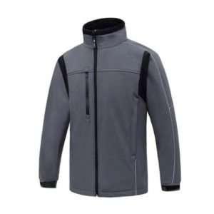 Aqua Soft Shell Fleece Grey/ Black
