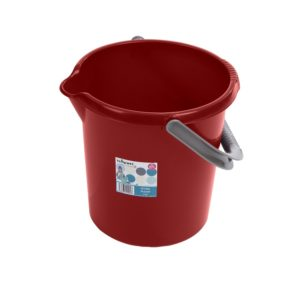 Casa 10L Bucket Chilli Red
