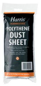 Taskmasters Polythene Dust Sheet-12'X12'