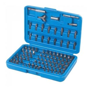 Silverline Screwdriver Bit Set 100pce