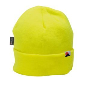 Portwest Beanie Style Insulatex Lined Hat Yellow