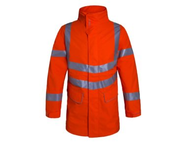 Aqua Hi-Vis Ripstop Breathable Jacket