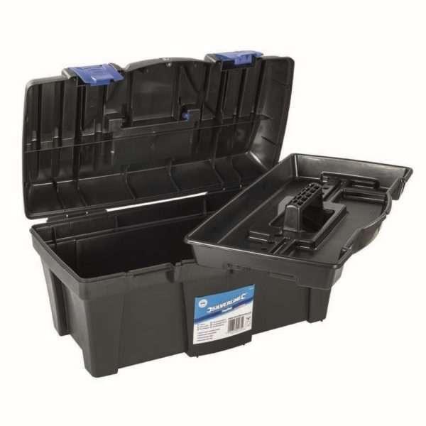 Silverline Toolbox 460 x 240 x 225mm