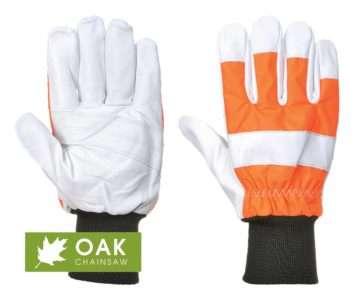 Oak Chainsaw Gloves