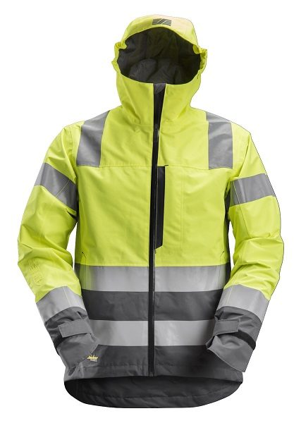 Snickers 1330 AllroundWork, High-Vis WP Shell Jacket CL3