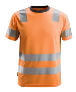 Snickers 2530 AllroundWork, High-Vis T-Shirt CL 2